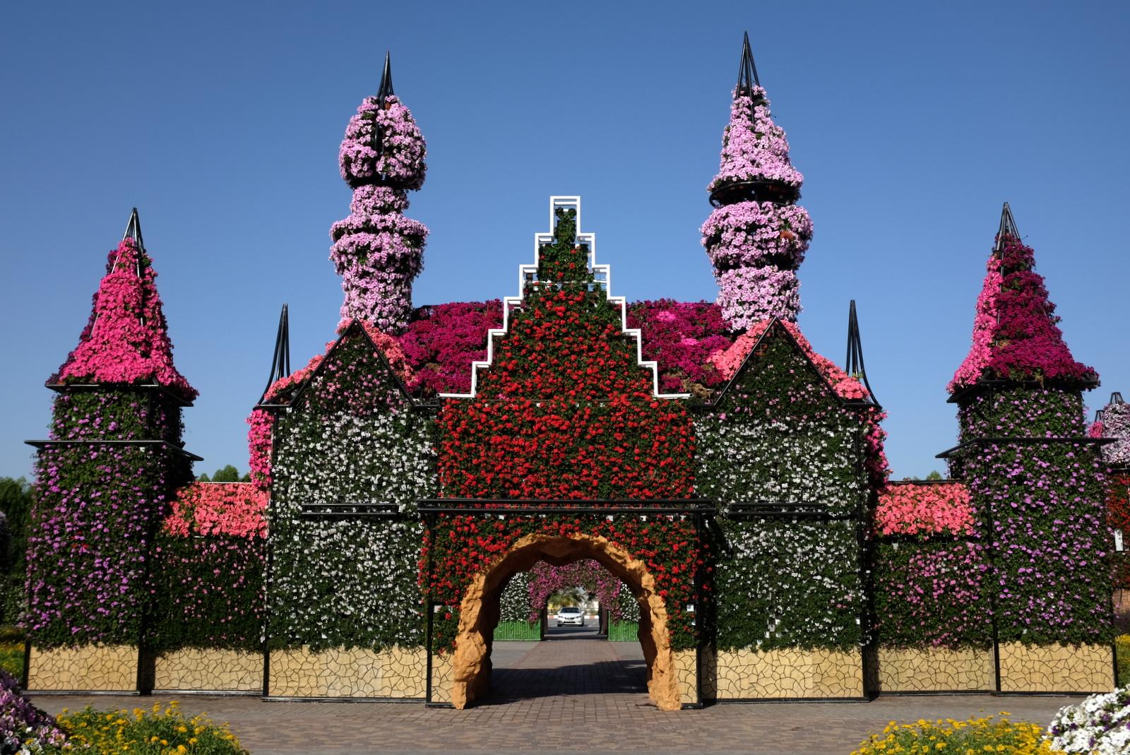 Dubai Miracle Garden - Entrance