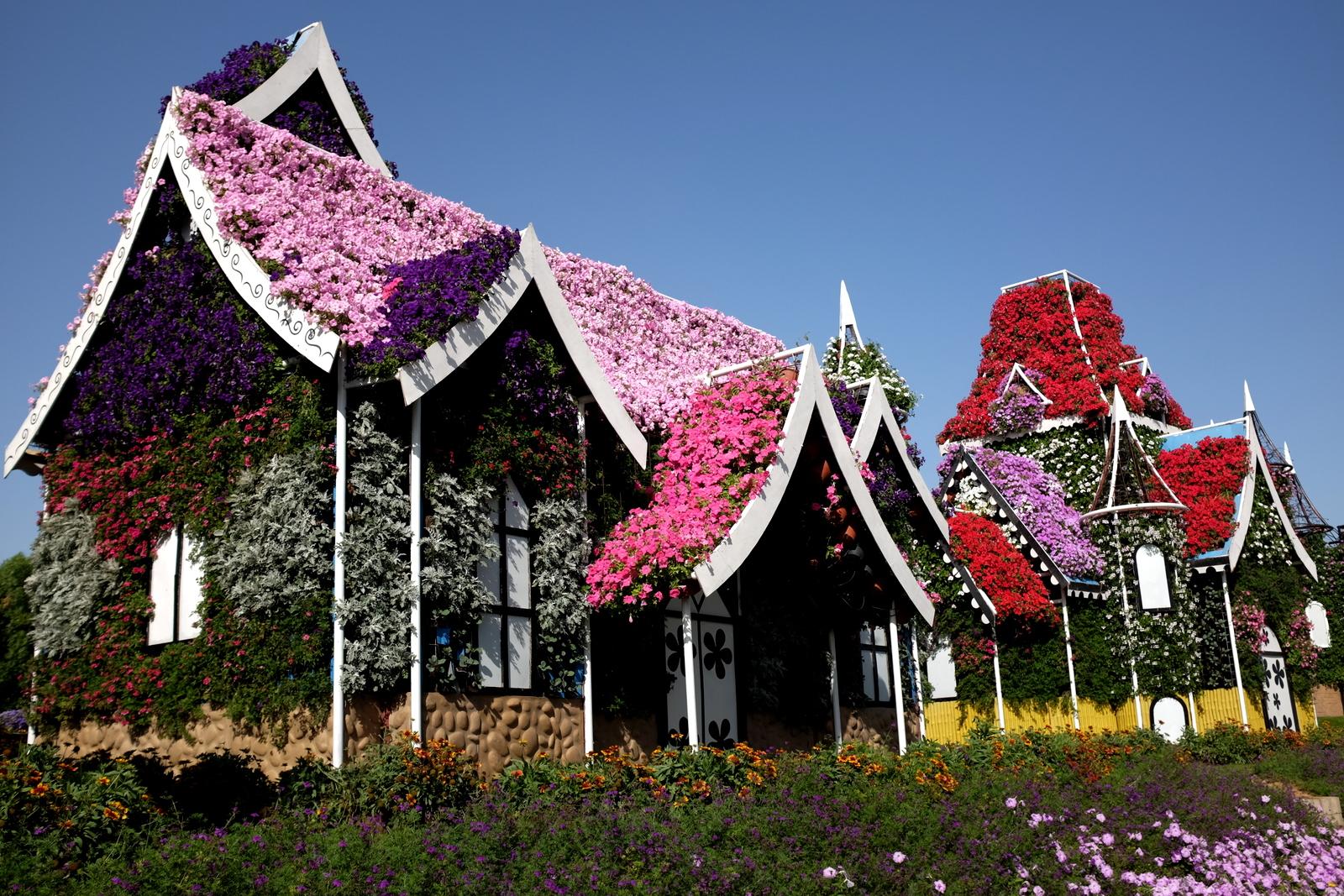 Dubai Miracle Garden - Houses