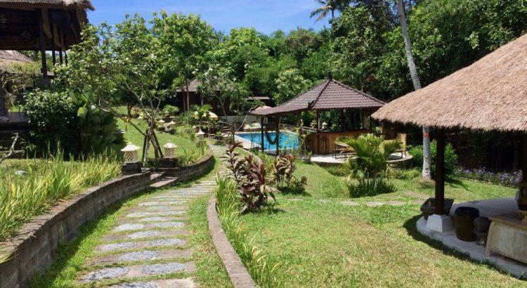 První hostel na Bali