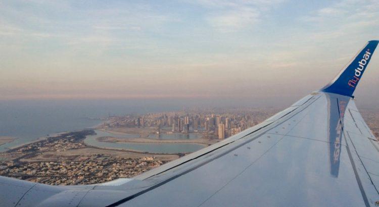 Let nad Dubají