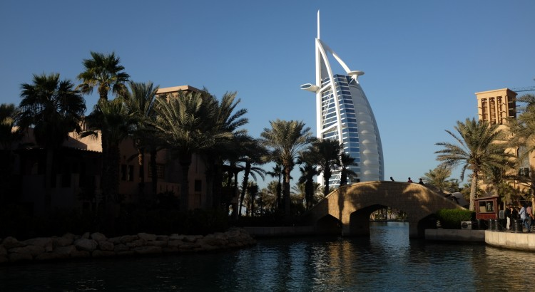 Burj Al Arab from Madinat Jumeirah