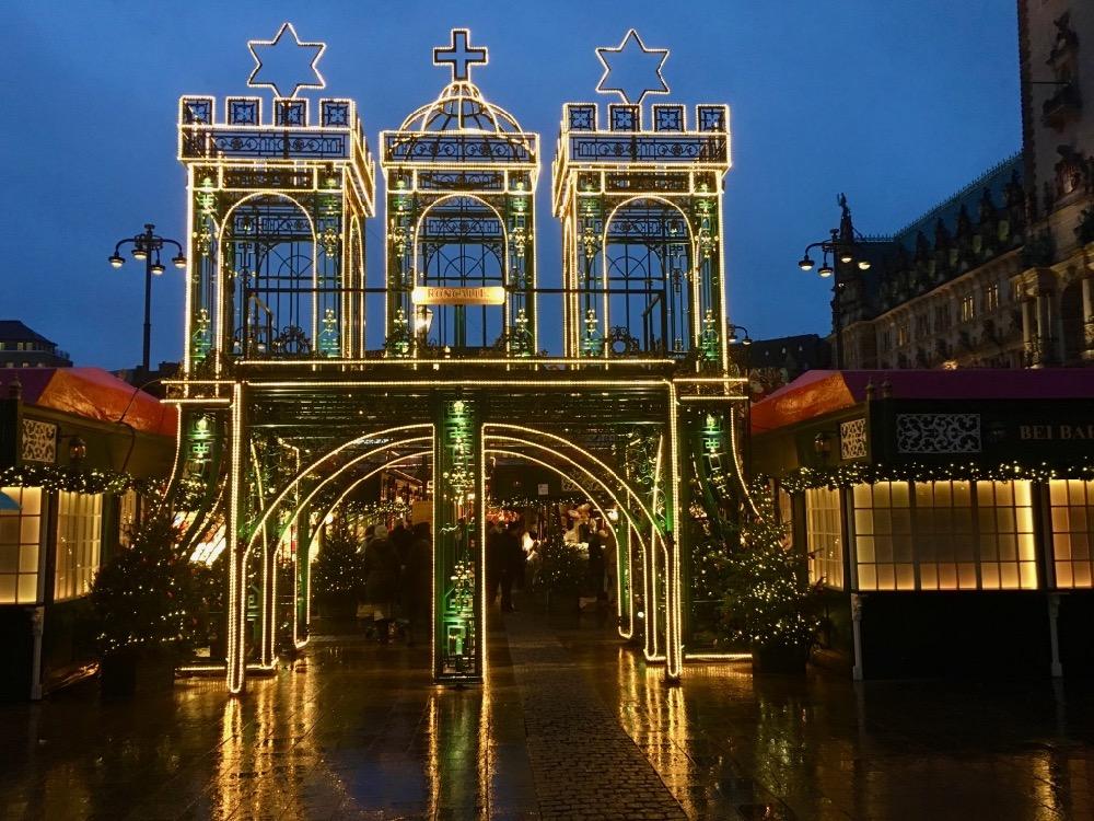 Hamburg - vánoční trhy