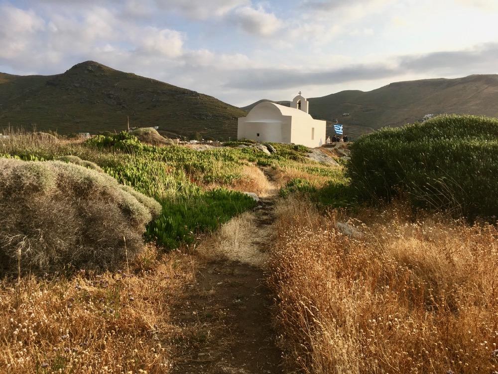Kostel na řeckém ostrovu