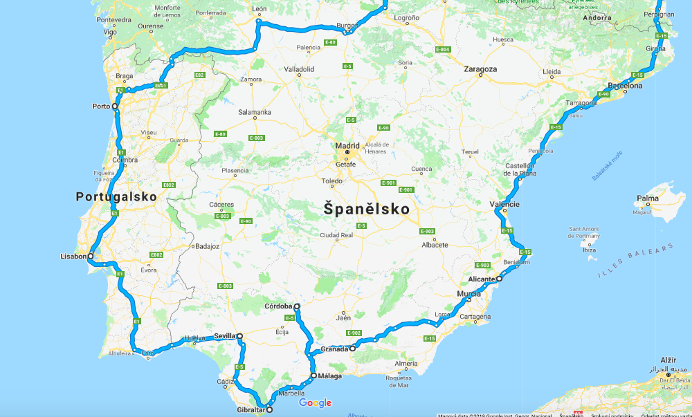 Roadtrip do Španělska