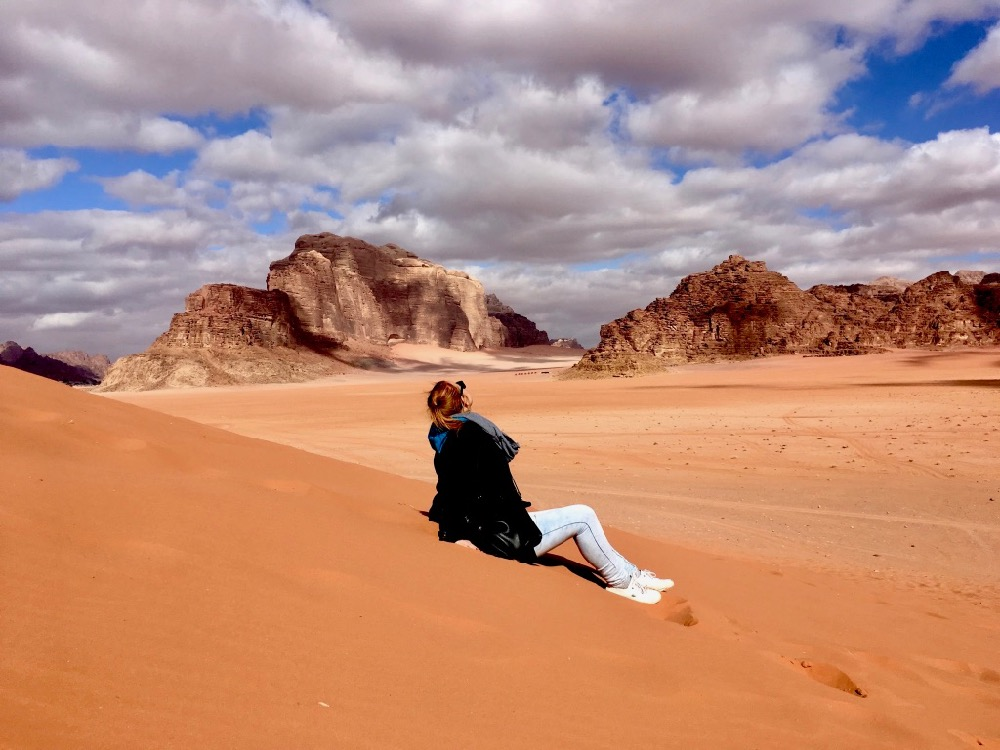 Já v poušti - Wadi Rum