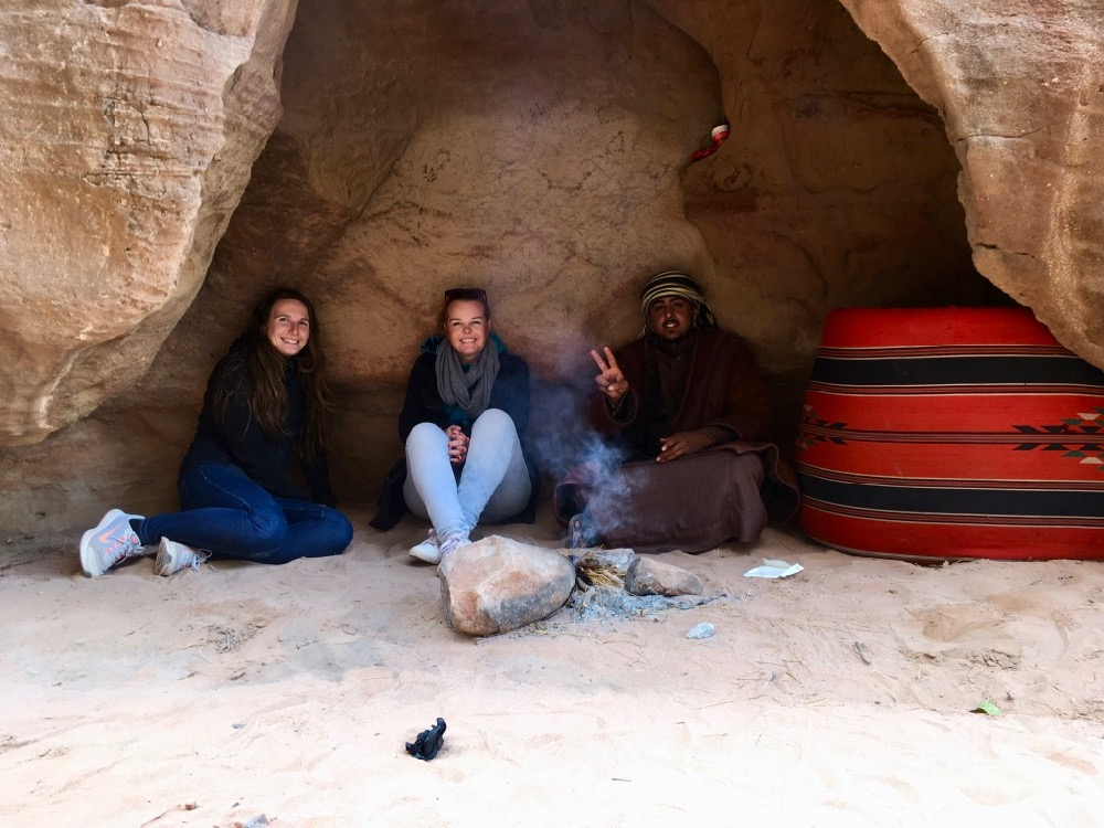 Pauza na čaj ve Wadi Rum