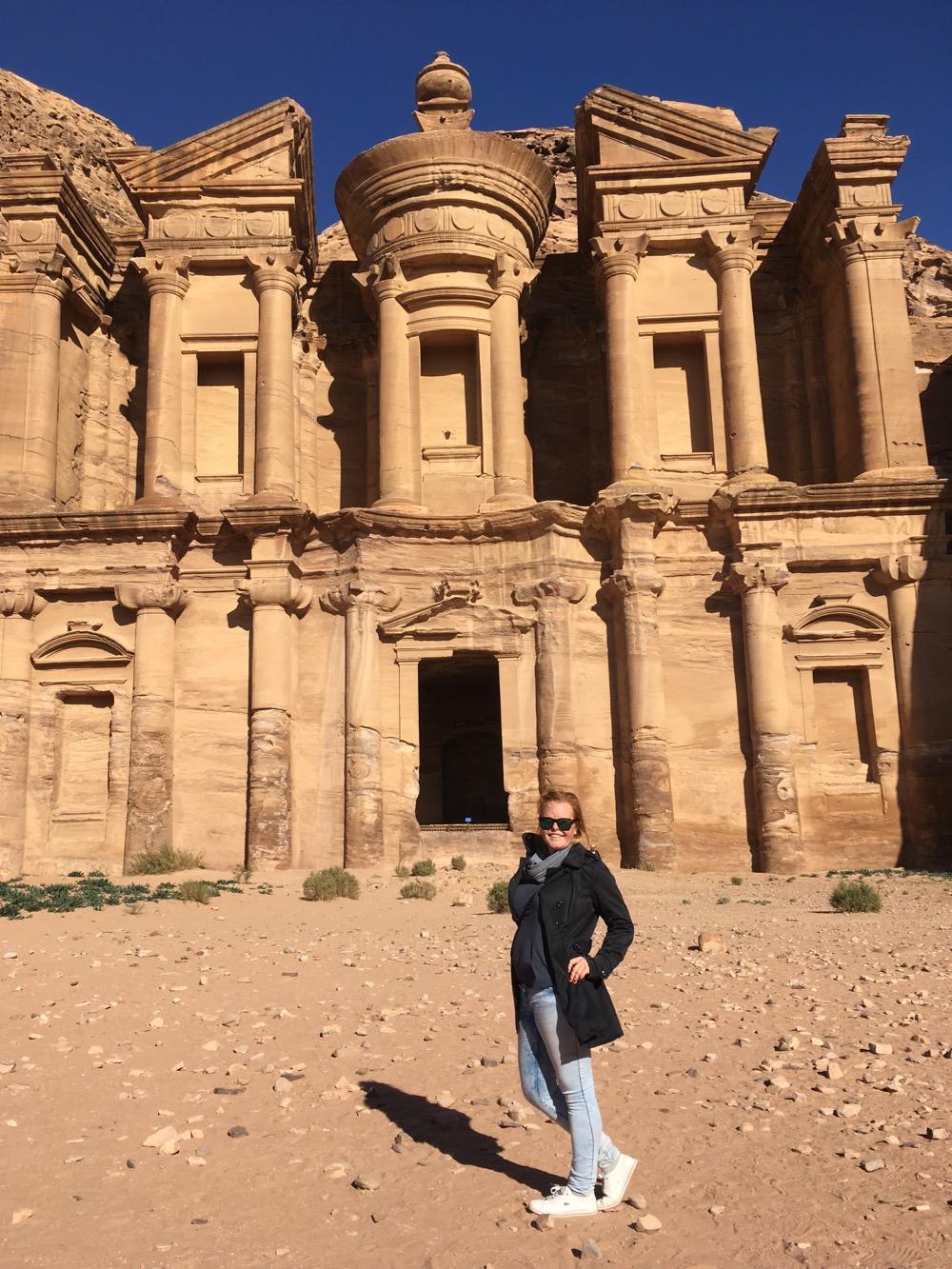 Petra - před Monastery