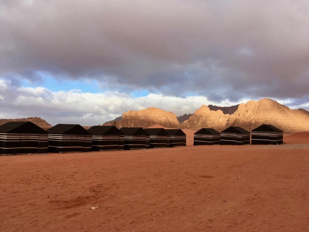 Tábor ve Wadi Rum