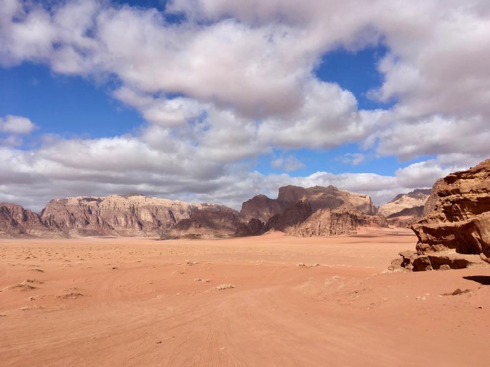 Poušť - Wadi Rum