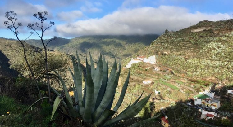 Gran Canaria - výhled do hor