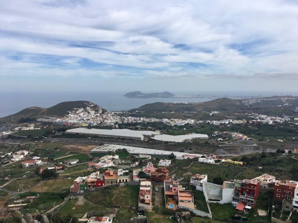 Montaña de Arucas - výhled