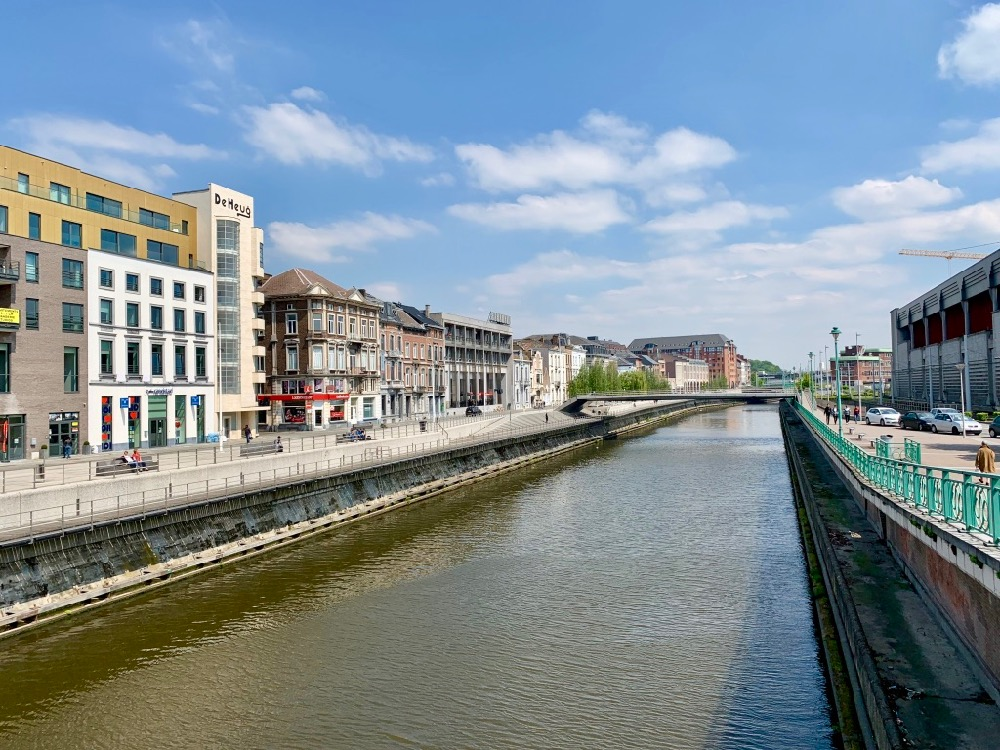 Řeka Sambre