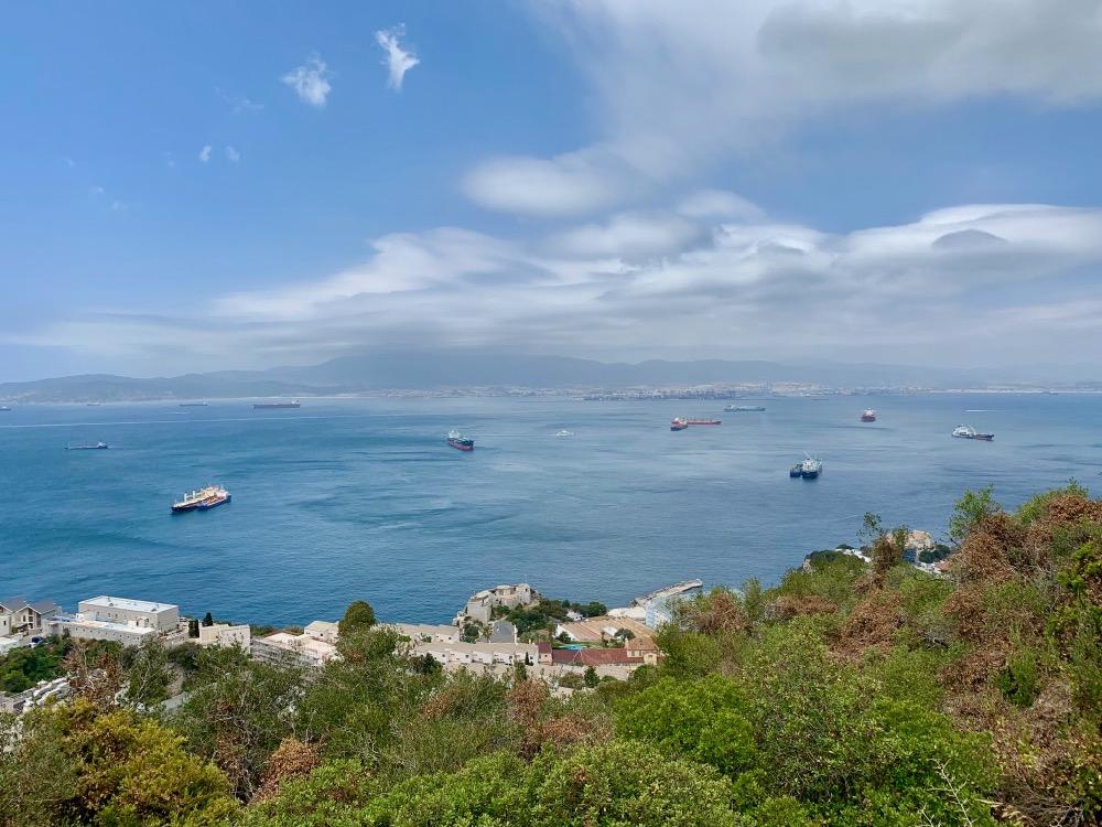 Výhled - Gibraltar