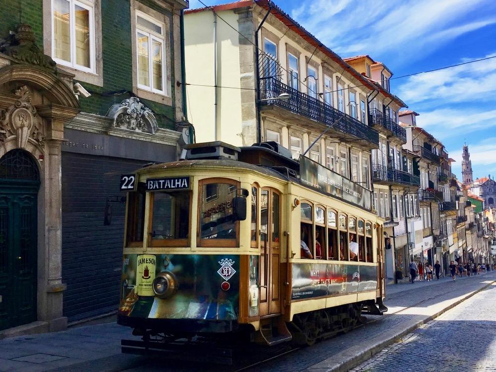 Porto - tramvaj