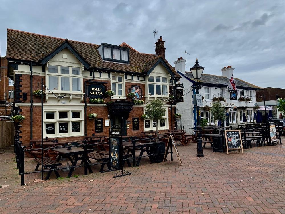 Městečko Poole v Jižní Anglii