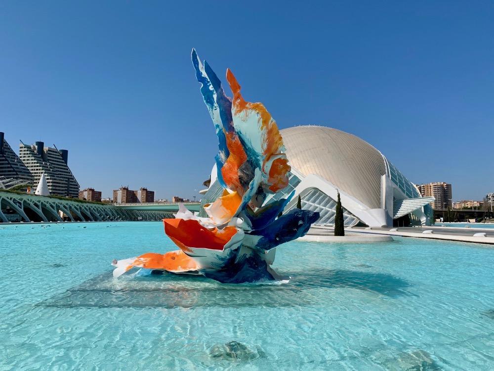 Valencie -Ciudad de las Artes y las Ciencias