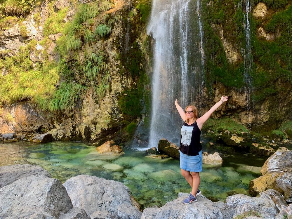 U vodopádu Grunas