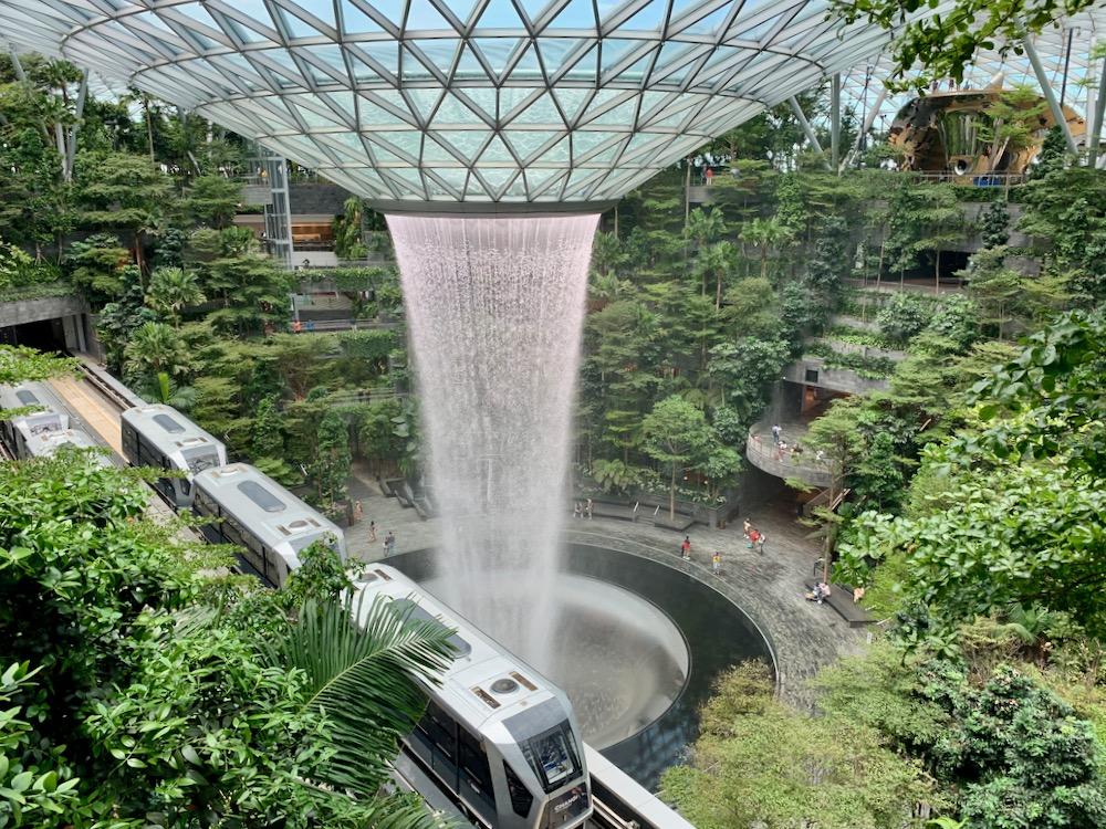 Singapore - letiště