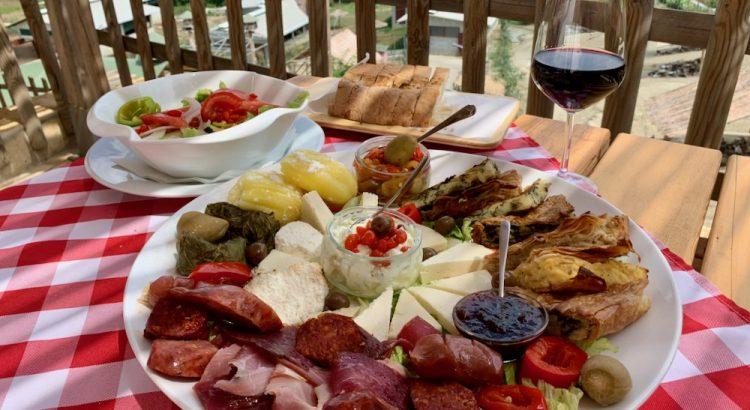 Albánské jídlo