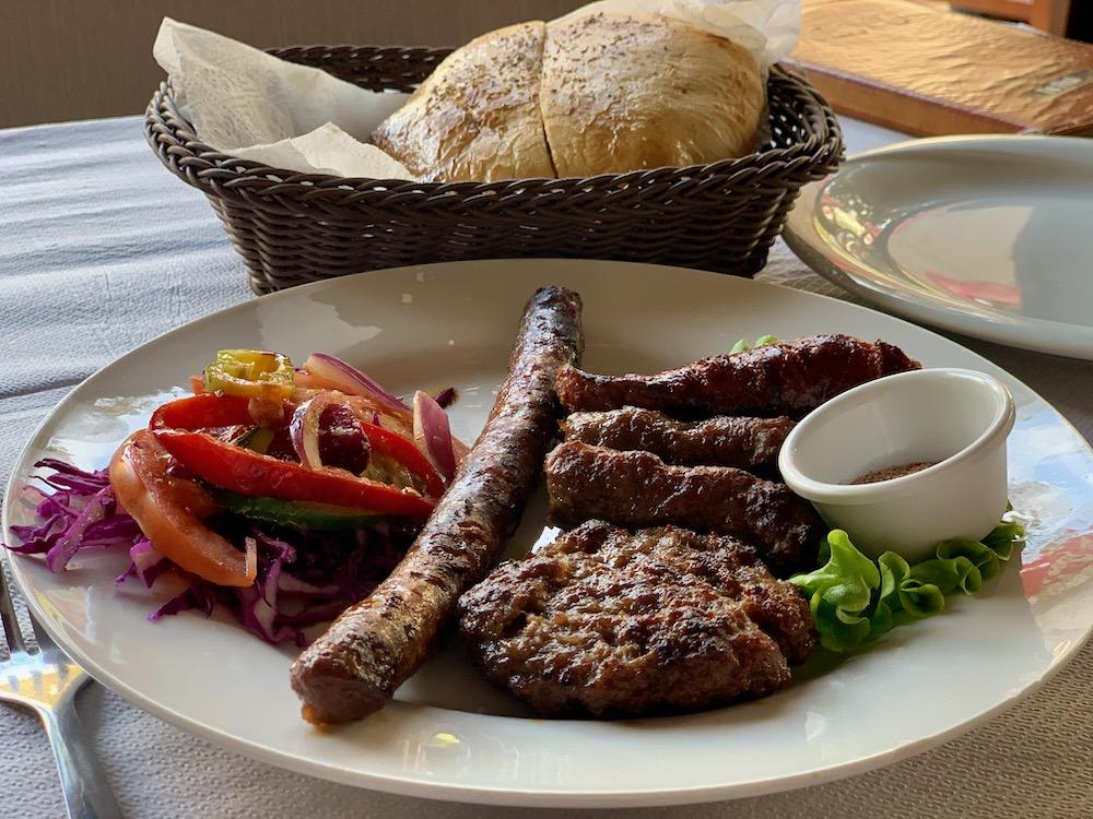 Albánský mix gril