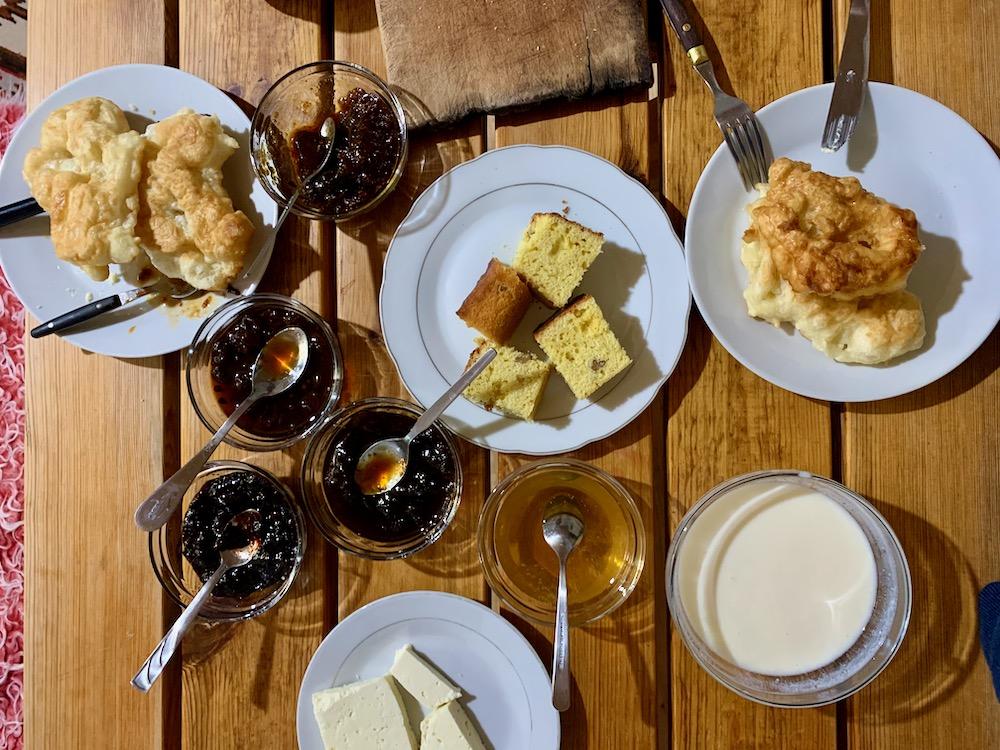 Albánská snídaně