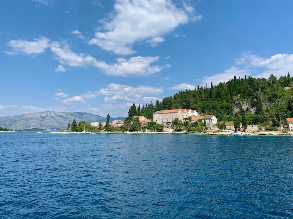 Cestou kolem Korčuly
