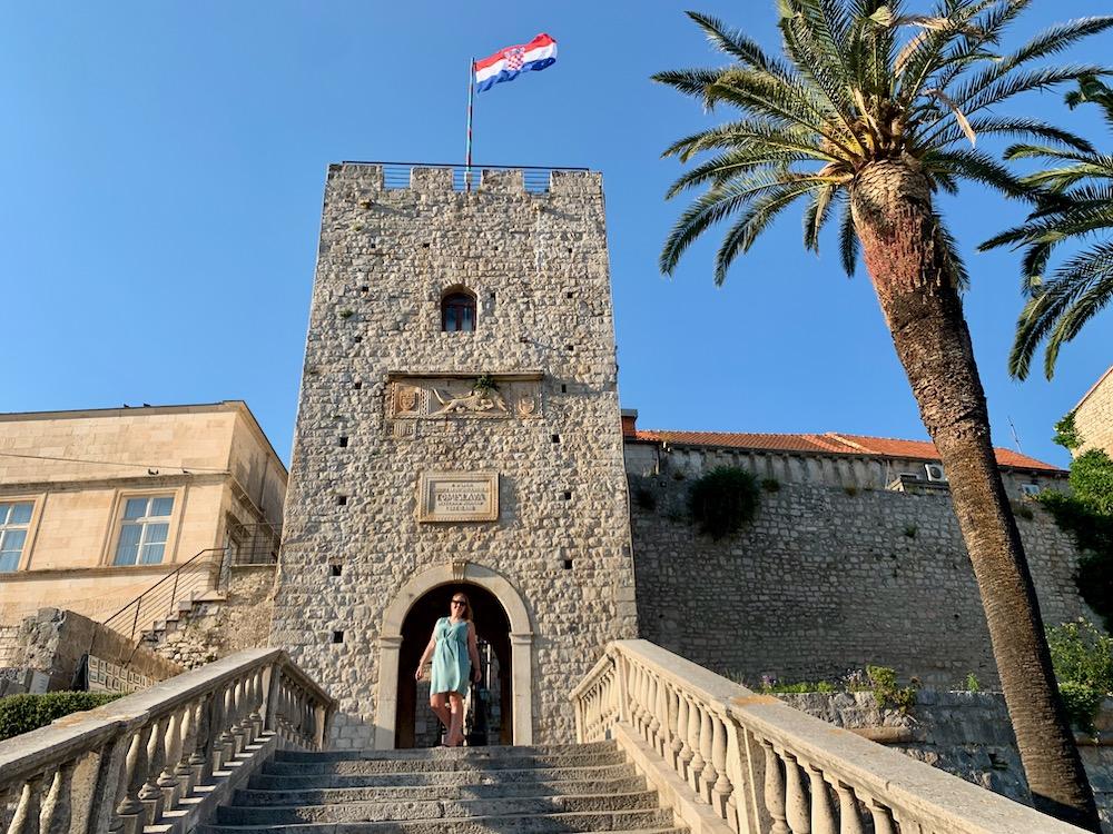 Korčula - městská brána