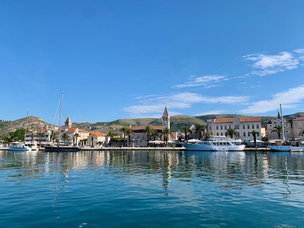 Trogir - pohled na město